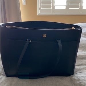 Tory Burch Tote with laptop compartment.